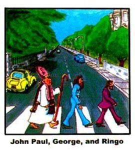Beatles - Right brain humor on the far side!