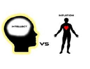 mind versus intuition