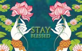 stay blessed